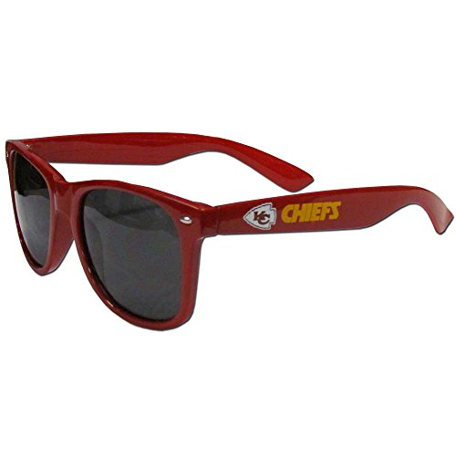NFL Kansas City Chiefs Beachfarer Sunglasses, Red, Adult ()