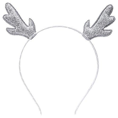 Christmas Glitter Antlers Deer Reindeer Headbands Party Headband Christmas Costume