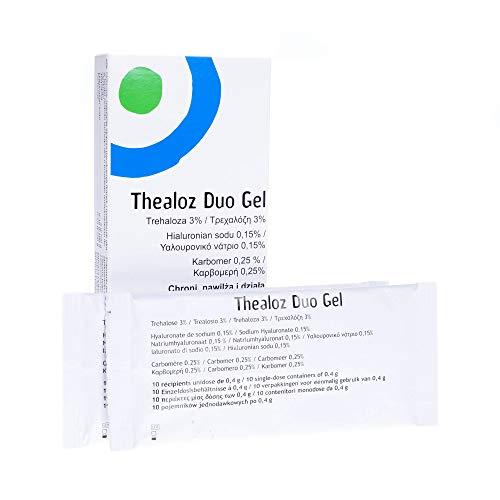 3 x Thealoz Duo Gel Single Dose Vials, 30 Doses - Total 90 Doses