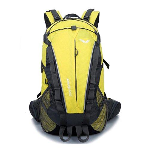 ZC&J Estilo europeo mochila escalada, de alta calidad de nylon impermeable anti-lágrima anti-multi-funcional mochila, los hombres y las mujeres general mochila,G,36-55L C