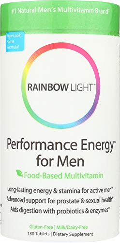 StarSun Depot (NOT A CASE) Performance Energy for Men Food-Based Multivitamin, 180 Tablets