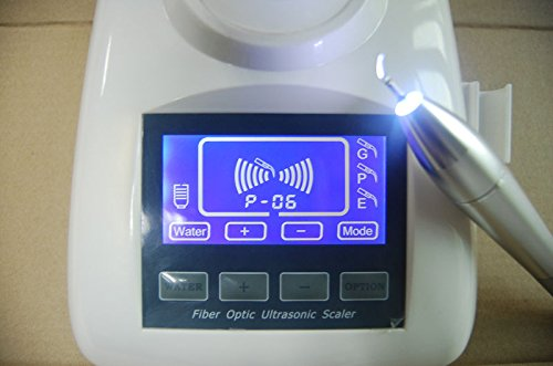 Superdental New LED UltrasonicUnit Fiber Optic Handle LCD Touch Screen Water Bottle Contained CE (cleaning unit)