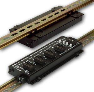 Radio Design Labs RDL DRA-35F Flat-PAK DIN Rail Adapter (Lab Pak)