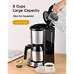 Sboly-Macchina-da-Caffe-con-Caffettiera-Termica-in-Acciaio-Inox-Macchina-da-Caffe-Programmabile-Grande-Capacita-Regolabile-da-2-a-8-Tazze-Funzione-Antigoccia-Compatibile-con-Caffe-Macinato