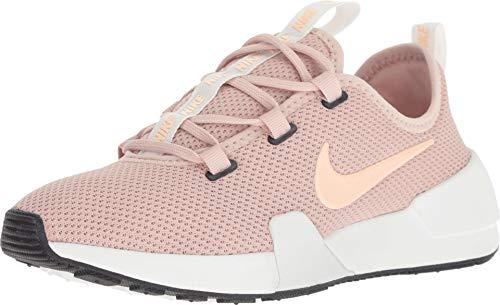 Nike Women's Ashin Modern Running Shoe (6M, Particle Beige/Crimson Tint)