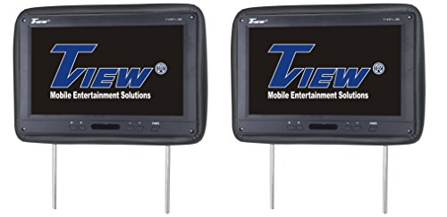Tview T122PL-BK Car Headrest Monitor, Black