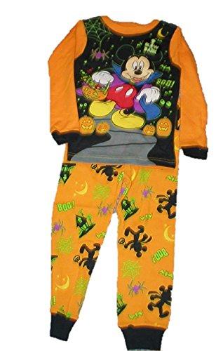 Halloween Mickey Mouse Toddler Pajamas