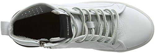 Blackstone Vrouwen Pl70 Hoge Sneaker Wit (wit)