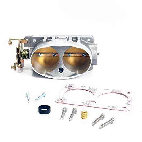 BBK 1711 Twin 65mm Throttle Body - High Flow Power Plus Series for Ford 4.6L-4V Cobra, V-10 F-Series, Excursion, Mustang Mach 1 and Bullitt