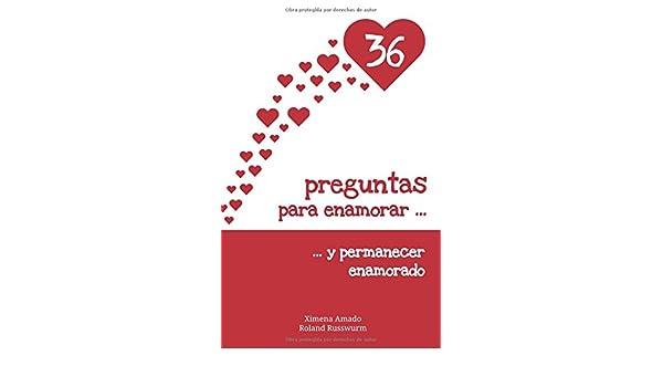 36 preguntas para enamorar y permanecer enamorado (Spanish) Paperback – November 24, 2017