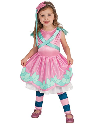 Rubie's Costume Little Charmers Posie Child Costume, - Leaf Ruby Striped