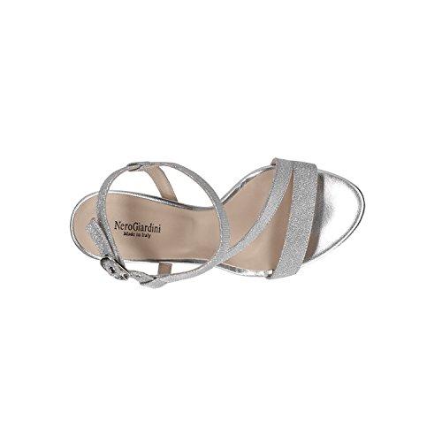 P806070DE Nero Scarpe Sandali Giardini Elegante Donna Ghiaccio Ghiaccio 6070 nAfgvAwxqZ