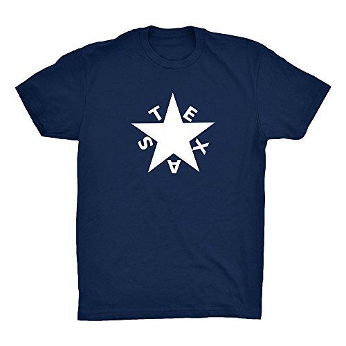 Eggleston Design Co. Texas Zavala Flag Lone Star T-Shirt ()