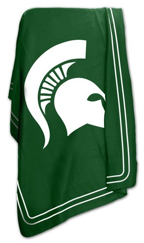 Michigan State University Spartans Fleece Throw Blanket