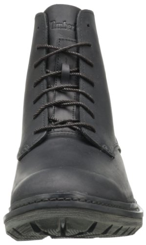 Timberland - Botas de cuero para hombre negro negro