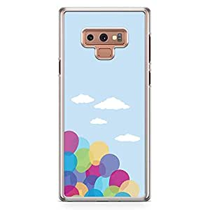 Loud Universe Movie Up Balloons Art Samsung Note 9 Cover with Transparent Edges