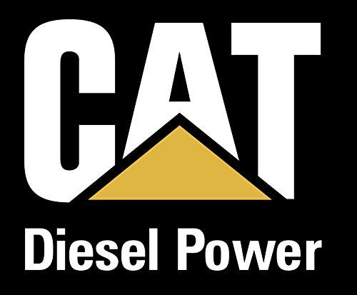 QTY 2 - CAT Caterpillar Diesel Power Die-Cut Vinyl Transfer Decal (7.05