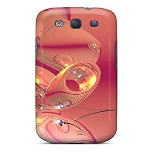 For Mialisabblake Galaxy Protective Case, High Quality For Galaxy S3 Pink Beads Skin Case Cover