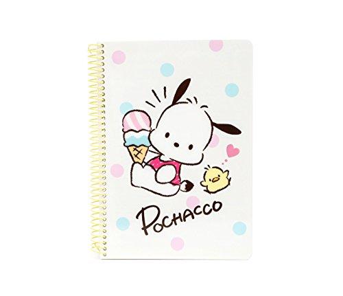 Pochacco Spiral Notebook: Ice Cream