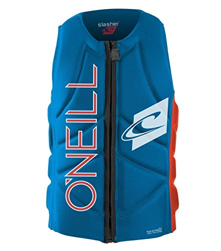 O'Neill Slasher Comp Vest Protektor S brtblu / neonred