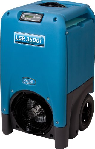 Dri-Eaz LGR 3500i Commercial Dehumidifier with Pump, Industrial, Durable, Portable, Blue, F411, Up to 30 Gallon Water Removal per Day