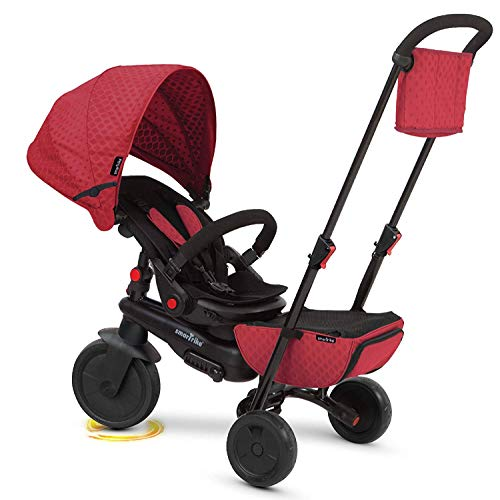 smarTrike smarTfold 700 Folding Baby Tricycle, Red (Smart Trike)
