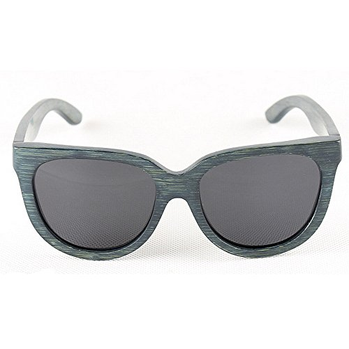 ULTRAVIOLETA sol las Gafas de de Gafas sol hechos bambú gato la gafas Gafas Ojos de de polarizadas a que madera de sol conducen los mano de de Azul Sunglasses protección Beach hombres retro de de sol BwqRFnCw