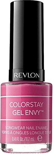 Revlon ColorStay Gel Envy Longwear Nail Enamel, Hot Hand 0.40 oz (Pack of 2) -