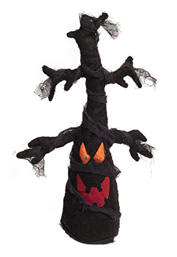 [Animated Light Up Haunted Plush Tree (Brown)] (Disneyland Haunted Mansion Costume)