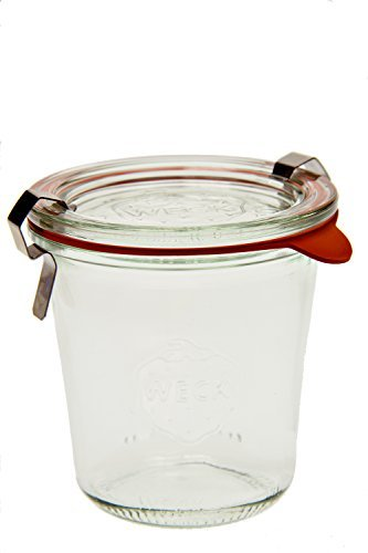 Weck 900 Tall Mold Jar - 1/5 Liter, Set of 6