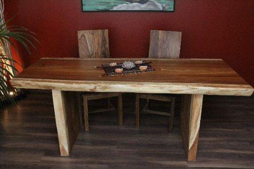 Mesa de comedor, escritorio, madera, maciza, Suar, mesa de cocina ...