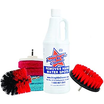 Amazon Com Water Spot Remover Plus Drill Brushes And