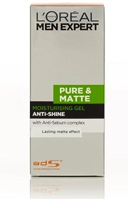 Men Expert by L'Oreal Paris Pure & Matte Anti-Shine Moisturising Gel 50ml