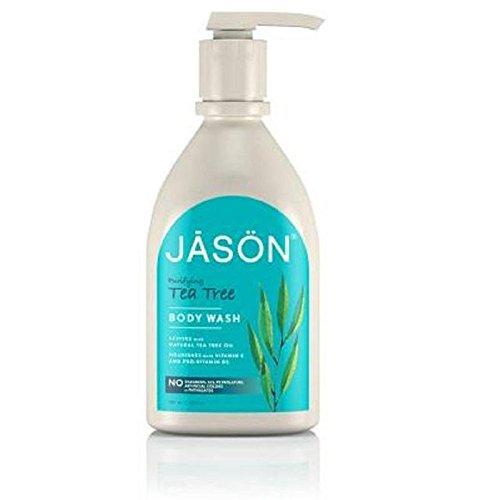 Jason Tea Tree Satin Body Wash Pump 900ml (PACK OF 6)