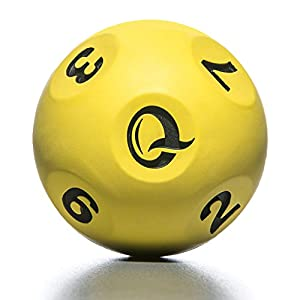Qball - Reaction Ball - World's Fastest Trainer! - Moderate Erratic Bounce. Allows Fast Bouncing and catching Without Chasing - Fast Results