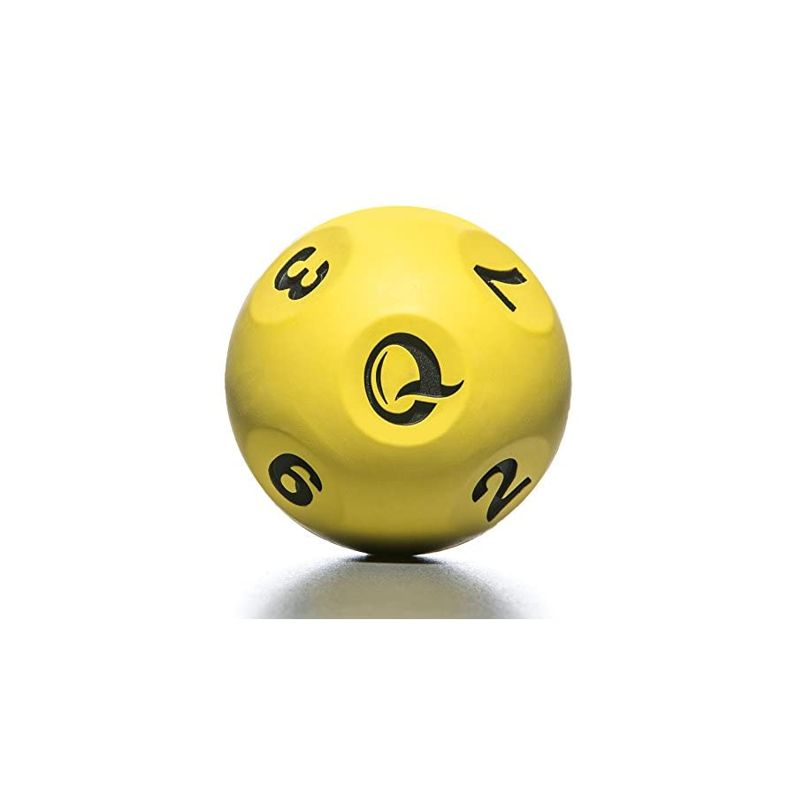 Qball Reaction Ball WORLD'S FASTEST TRAINER! Moderate Erratic Bounce. Allows fast bouncing and catching without chasing FAST RESULTS