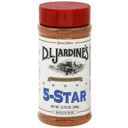 (D.L. Jardine's 5 Star Ranch Rub, 13.75 OZ (Pack of 1))