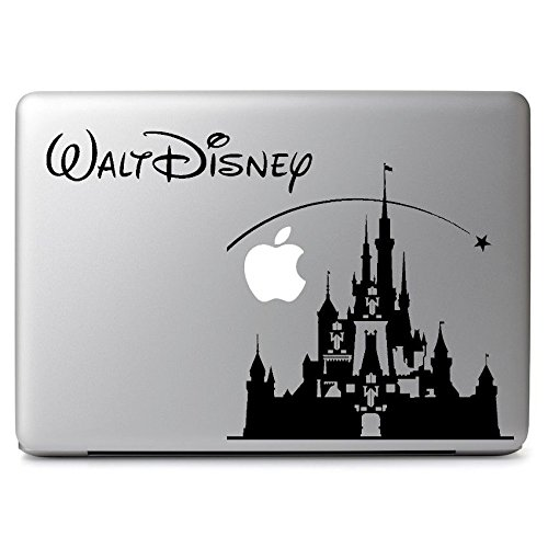 HVD-Disney Castle Decal Sticker Skin for Apple Macbook Air & Pro 11 13 15 17'' Laptop by Hill Valley Dreamers