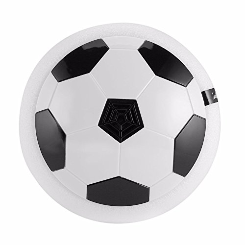 Seven One 1 pieces Air Power Soccer Ball Colorful Disc Indoor Football Toy Multi-surface Hovering and Gliding Toy
