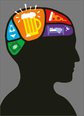 Brain Map APress Birthday Card - Avanti Map