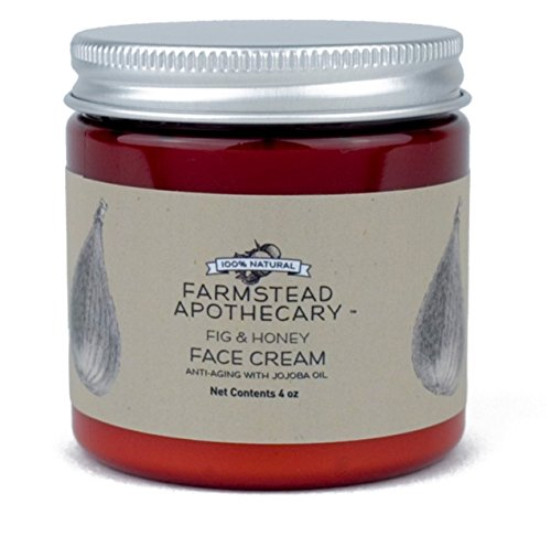 Farmstead Apothecary 100% Natural Anti-Aging Face Cream with Jojoba Oil, Fig & Honey 4 - Cream Fig