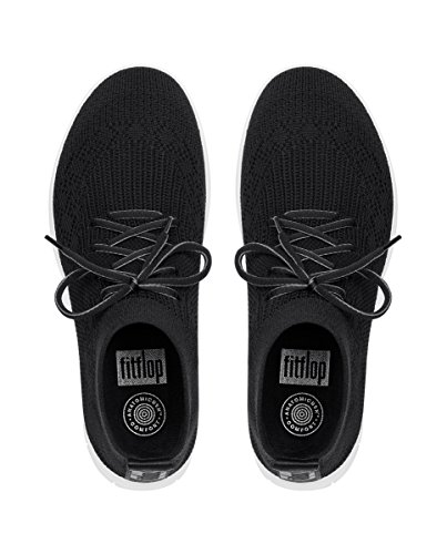 Sneaker Slip Black Black Top Women's 001 Uberknit on Hi Fitflop High anf4qEY