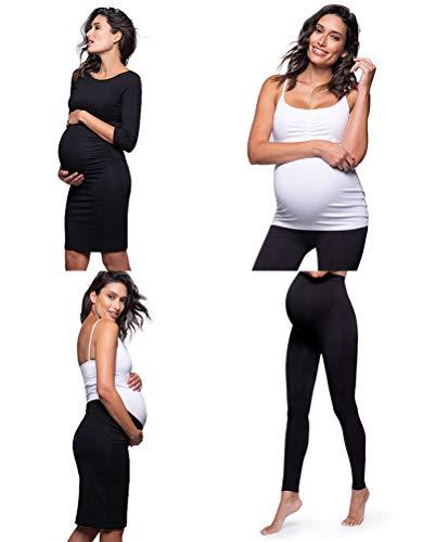 Seraphine Women's London Bump Kit - Maternity Dress, Vest, Leggings & Skirt Size Medium