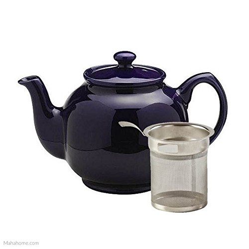 Price & Kensington Midnight Blue 6 Cup Teapot With Filter