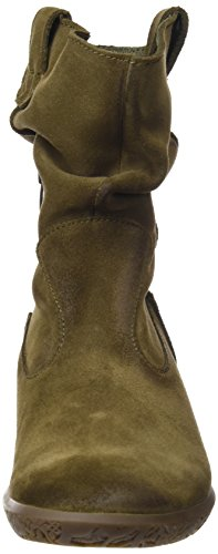 El Naturalista NG17, Botas Cortas Mujer Verde (Kaki)