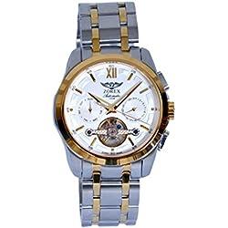 Zorex Men's Automatic Mechanical Watch Sapphire-glass stainless steel