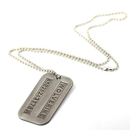 Value-Smart-Toys - Movie X-Men Origins Wol-verines Dog Tag ID Necklace male fans jewelry Christmas gift HF11411