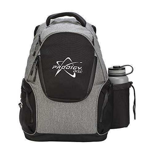 Prodigy Disc BP-3 V2 Disc Golf Backpack - Fits 17 Discs - Beginner Friendly, Affordable (Heather Gray/Black) by Prodigy Disc (Image #3)