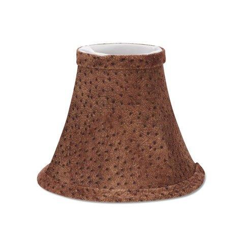 Darice Bulk Buy DIY Crafts Lampshade Brown Animal Print 5 inches (6-Pack) 2609-841