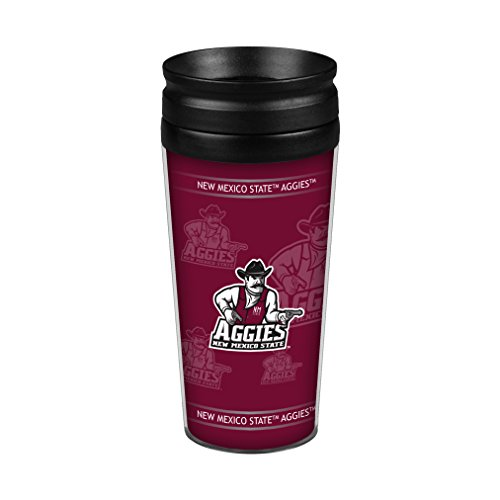 Boelter Brands NCAA New Mexico State Aggies Full Wrap Travel Tumbler, 14-Ounce